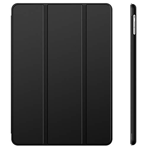 JETech Case for Apple iPad Air 1st Edition (NOT for iPad Air 2), Smart Cover Auto Wake/Sleep, Black