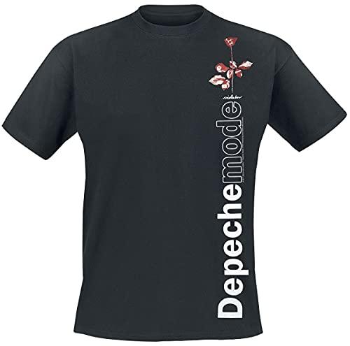 Depeche Mode Violator Side Rose Männer T-Shirt schwarz M 100% Baumwolle Band-Merch, Bands