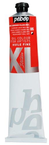 PEBEO XL - Pintura al óleo (200 ml), Color Rojo