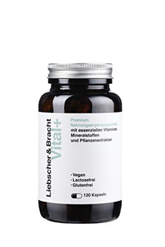 Liebscher & Bracht Premium Nahrungsergänzungsmittel: Vital+ / 120 Kapseln für 2 Monate - alle wichtigen Vitamine und Spurenelemente, vegan, lactose- & glutenfrei