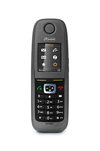 Auerswald Telefon COMfortel M-530 dunkelgrau