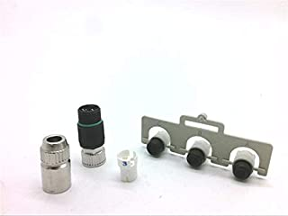 HARTING 21 02 151 2305 Circular Connector, HARAX M8-S Series, Receptacle, 3, Socket, Crimp, Cable Mount ROHS Compliant: YES