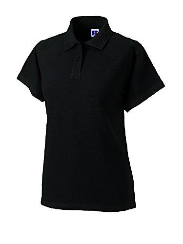 Jerzees - Polo - - Col polo - Manches courtes Femme - Noir - Noir - 40