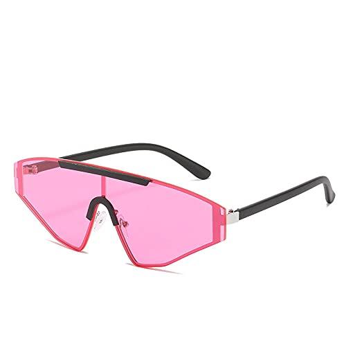 Gosunfly Gafas de sol cuadradas sin marco Gafas de sol para mujer Gafas de sol de moda para hombre-The New_Black feet ocean