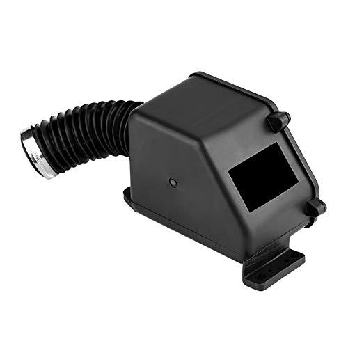 Kit de filtro de aire para motocicleta, limpiador de admisión de caja de filtro de aire negro para ciclomotor GY6 150cc ATV Go Kart
