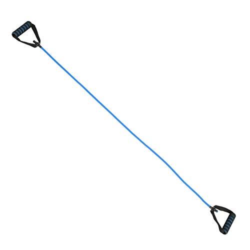 Cuerda de Yoga, Cuerda de Ejercicio TPE, para Gimnasio en casa(Blue, 5 * 10 * 1200mm)