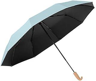 ソルシェード 日傘 折りたたみ傘 完全遮光 10本骨 4段収納 軽量 コンパクト 日傘 収納ケース付き // 折り畳み傘 晴雨兼用 完全遮光 100% 撥水加工 UVカット UPF50+ PA (solshade 020)