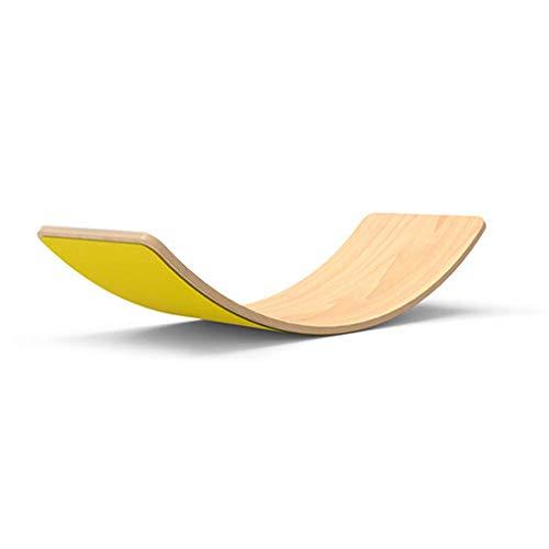 Balance Board en Bois Montessori Bascule À Bascule Courbée W