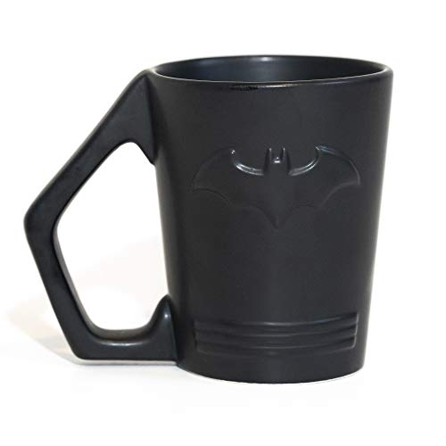 Paladone Batman Shaped Ceramic Coffee Mug - DC Comics Embossed Cup
