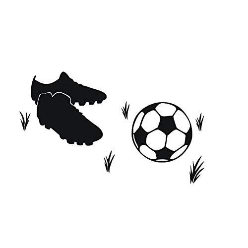 Lichi Autocollant Sticker Foot Football sur Herbe pour décoration intérieure