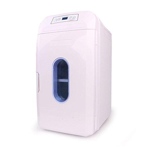 TANKKWEQ 35L Dualación portátil 12V / 24V / 220V Car Tor HOGAR Mini COCE Dual Thermostat Fridge Oficina con función de Calentamiento de enfriamiento CA/DC Portátil (Color : White)