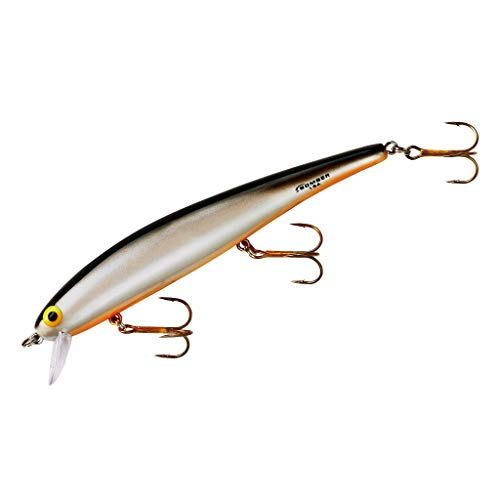 Bomber Long A Fishing Lure (Pearl / Black Back Orange Belly, 4 1/2-Inch)