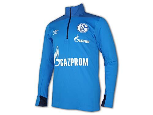 Umbro 2018-2019 Schalke Half Zip Training Top (Blue)