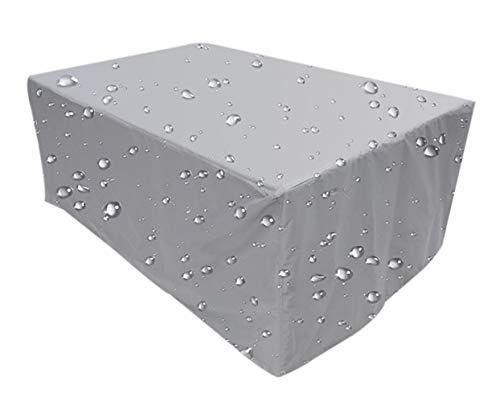 zhbotaolang Housse de Canapé de Jardin Résistant - Meuble pour Maison de Protection à l'eau en PVC Imperméable pour Les Rectangulaire Couvercle (115x115x70 cm)