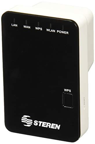 Steren COM-818 Repetidor y punto de acceso wifi d/pared 300mbps