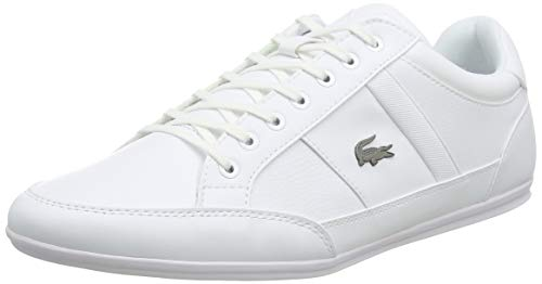 Lacoste Herren Chaymon BL 1 CMA Sneaker, Weiß (White/White), 43 EU