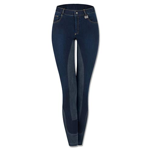 WALDHAUSEN (AL) Jeansreithose Cara, jeansblau/nachtblau, Gr. D36, jeansblau/nachtblau, 36