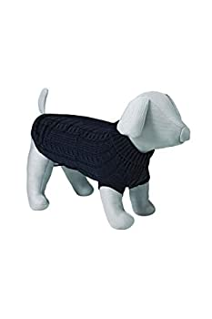 TRIXIE King of Dogs Pullover pour Chien Noir 45 cm Taille M