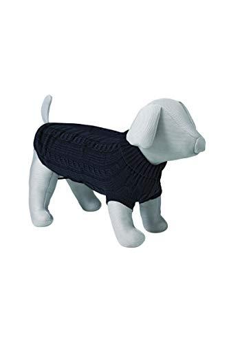 Trixie Hundekönig Pullover, M: 45 cm, schwarz