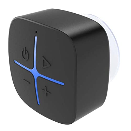 IYUNDUN Altavoz Bluetooth Portátil para Ducha De 5 W, Altavoz Bluetooth Impermeable IP65 con Ventosa, Sonido Y Graves De Cristal 3D, Mini Altavoces Inalámbricos para iPhone iPad Baño De Piscina