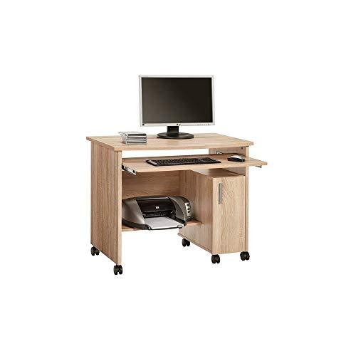 MAJA Möbel 4035 Schreib-und Computertisch Sonoma-Eiche, Abmessungen (BxHxT): 94 x 77 x 60 cm, 94 x 60 x 77 cm