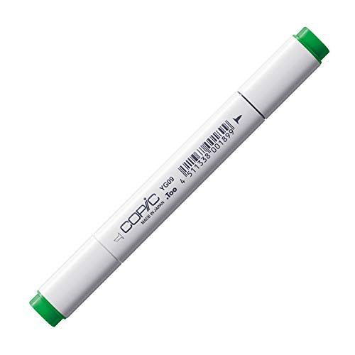 COPIC Classic Marker Typ YG - 09, Lettuce Green, professioneller Layoutmarker, alkoholbasiert, mit einer breiten und einer feinen Spitze