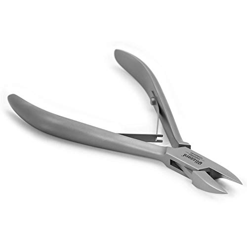 Blizzard - Pince coupe-ongles spéciale ongles incarnés pointe fine podologie pédicure professionnel 15 cm en acier inox allemand soin des pieds avec lime offerte