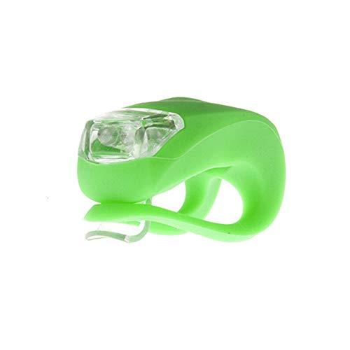 Blinklicht led licht Clip Silikon Fahrrad Lichter Roller leuchten Räder Roller Lichter Rollerlicht Mikrorollerlicht Rollerlichter für Kinder Green,Freesize