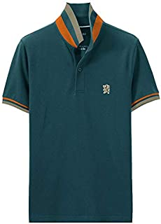 Giordano Men's Small Lion Polo
