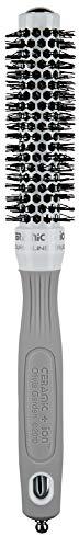 Olivia Garden Rundhaarbürste Ceramic + Ion 20, antistatische Ionen-Rundhaarbürste mit Keramikkörper und Nylonborsten 20/ 35 mm