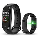 Digibuff M4 Smart Band Bluetooth Waterproof Heart Rate Monitor Smart Screen/Bracelet/Fitness Tracker...