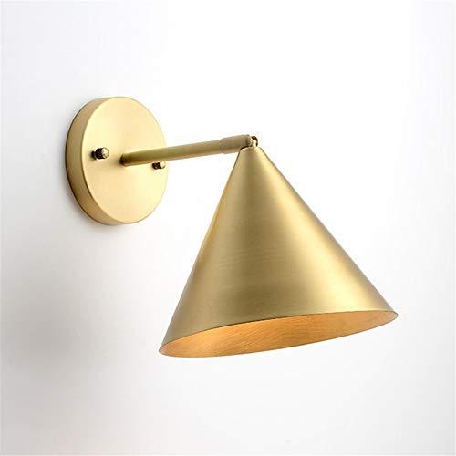 Nordic Minimalism Cuivre Applique Murale Pour Salon Allée Créative Chambre Lampe Loft Or Décor E27 Appliques Murales,B