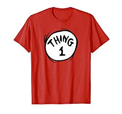 Best clothing styles for Thing 1 Emblem RED T-Shirt