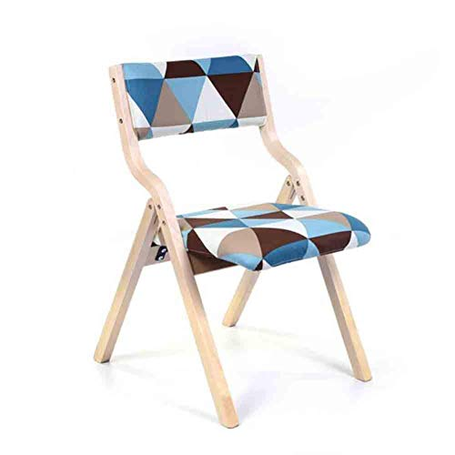 Folding chair Chaise détachable décontractée Coussin Coussin, Manger modèle de Fauteuil Chaise Quatre Couleurs