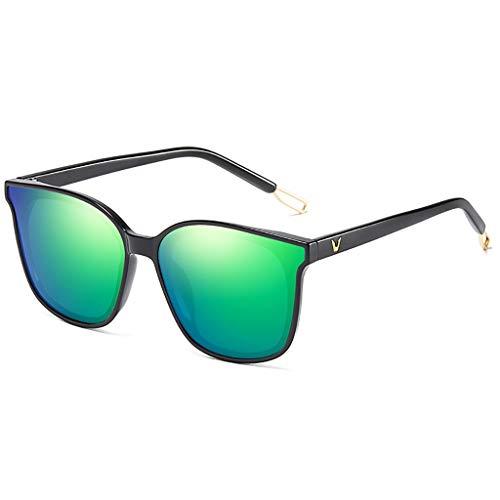 LQ Herrenbrille Versace Polarisierte Fahrer-Nachtsichtbrille, Aluminium-Magnesium-Herrensonnenbrille, hochauflösende polarisierte Sonnenbrille (Farbe : D)