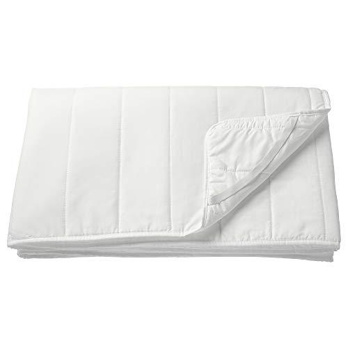 IKEA(イケア) NATTLIG 防水マットレスプロテクター ホワイト