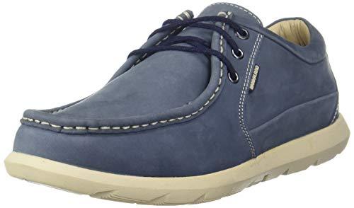 Woodland Men's 2917118 Navy Leather Sneaker-6 UK (40 EU) (GC 2917118NAVY)