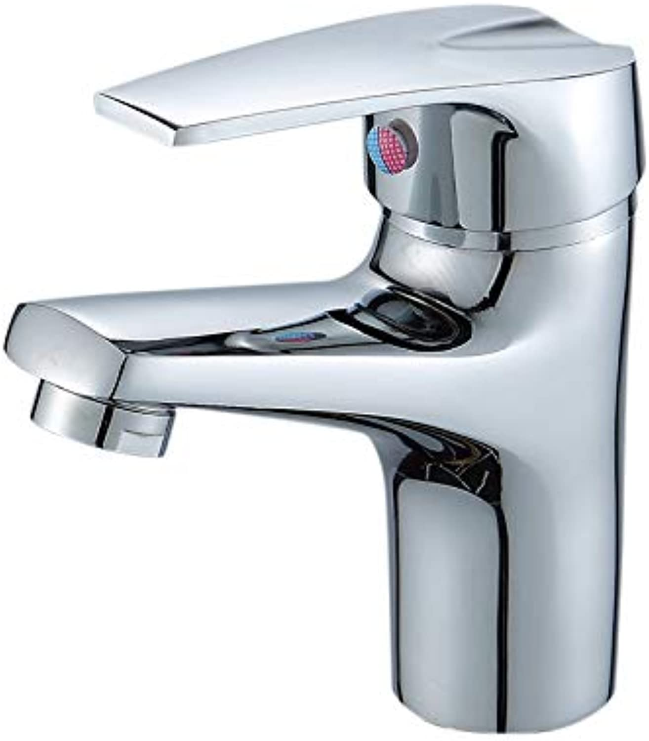 redOOY Taps Bathroom Sink Taps Shower Tapsbasin Faucet Basin Faucet Single Hole Single Handle Hot And Cold Basin Above Counter Basin Copper