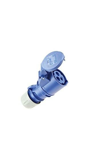 PCE pce213–6 Caravan-stopcontact, 250 V, blauw