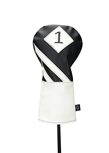 Callaway Golf Vintage Driver Headcover Head Cover 2017 Vintage Driver Black/White