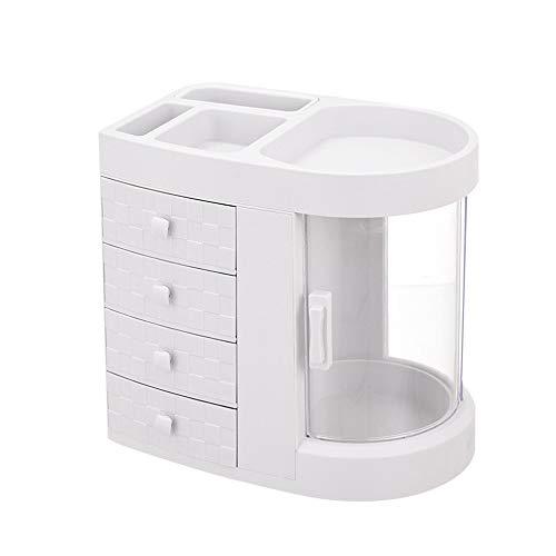 Kensd Soporte de múltiples capas de maquillaje del cajón de almacenamiento caja...