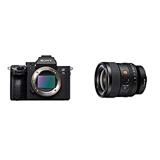 Sony a7 III Full-Frame Mirrorless Interchangeable-Lens Camera with 24mm F/1.4-16 Fixed FE GM Wide-Angle Prime Lens, Black (B07HL5LVY7) | Amazon price tracker / tracking, Amazon price history charts, Amazon price watches, Amazon price drop alerts