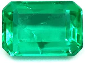 GemsNY 0.75 Carat Natural Al sold out. SEAL limited product Cut Emerald