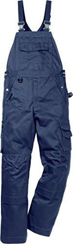 Fristads 114121 Kansas Workwear Latzhose Gr. 36W x 32L, dunkles marineblau