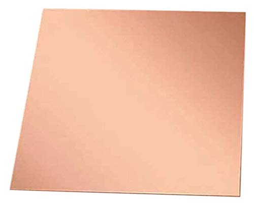 産業用電源の紫色の銅100mm x 300mmの金属製の芸術のDIYの工芸品 真鍮プレート (Size : 1.0*100*300mm)