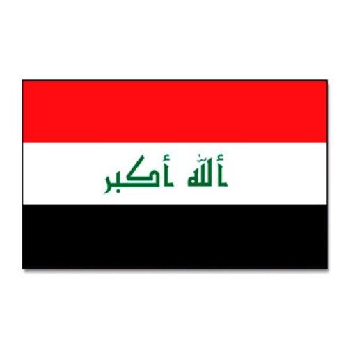 Prom Irak Flagge Fahne 90 * 150 cm