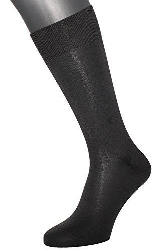 ALBERT KREUZ Die Feine - Herren-Business-Socken aus Baumwolle 1 Paar Braun Gr. 45-47