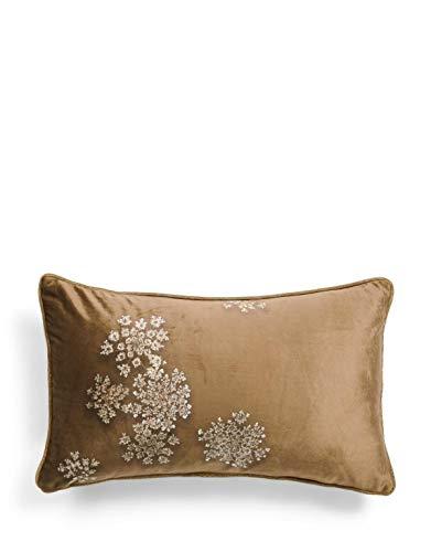 ESSENZA Dekokissen Lauren Blumen Polyester Cinnamon, 30x50 cm