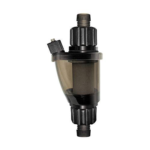 UP Aqua Inline Atomizer CO2 Reaktor für Süßwasser und Meerwasser Aquarium | optimal für Pflanzenaquarien und Aquascapes von Nano bis Großaquarien | Betrieb mit Filter Pumpe | inkl Zubehör