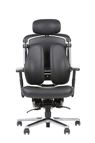 Sigma Office - Silla de oficina ergonómica Matrix con soporte 100% ergonómico para cintura, espald